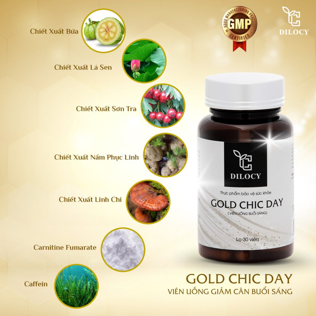 Dilocy gold chic day